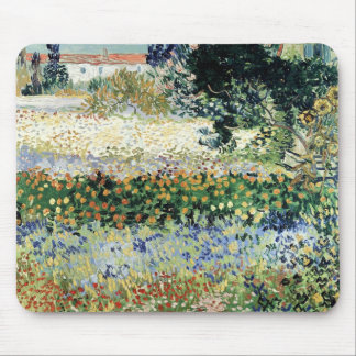 Garden in Bloom, Arles, 1888 Mouse Pad