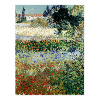 Garden in Bloom, Arles, 1888 Postcard