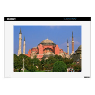 Garden in front of a museum, Aya Sofya Skins For Laptops