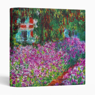 Garden in Giverny by Monet  Binder