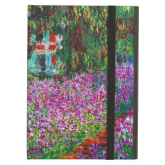 Garden in Giverny by Monet Cover For iPad Air