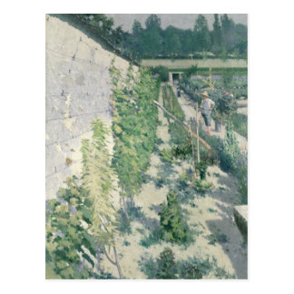Garden in Grez, 1884 Post Card
