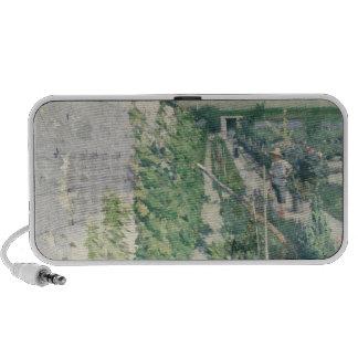Garden in Grez, 1884 iPod Speaker