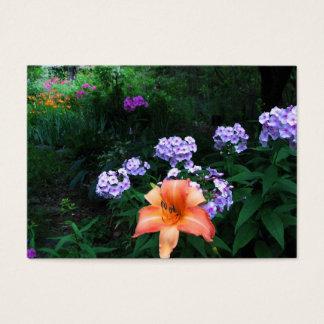 Garden in Light & Shadow ATC Business Card