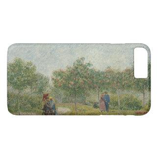 Garden in Montmartre with Lovers by Van Gogh iPhone 8 Plus/7 Plus Case
