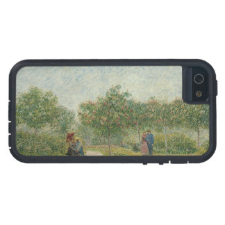 Garden in Montmartre with lovers Case For iPhone SE/5/5s