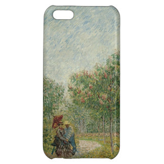 Garden in Montmartre with lovers Cover For iPhone 5C