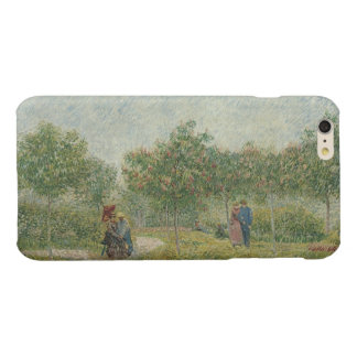 Garden in Montmartre with lovers Glossy iPhone 6 Plus Case