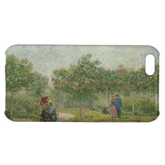 Garden in Montmartre with lovers iPhone 5C Case
