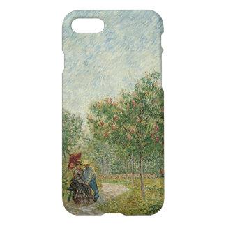 Garden in Montmartre with lovers iPhone 8/7 Case