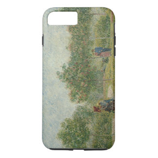 Garden in Montmartre with lovers iPhone 8 Plus/7 Plus Case