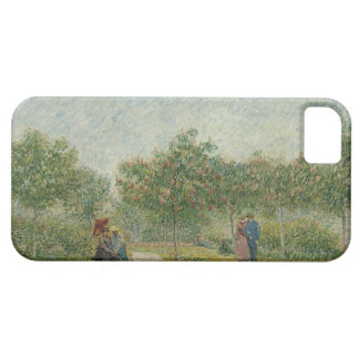 Garden in Montmartre with lovers iPhone SE/5/5s Case