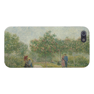 Garden in Montmartre with lovers iPhone SE/5/5s Cover
