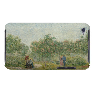Garden in Montmartre with lovers iPod Touch Case