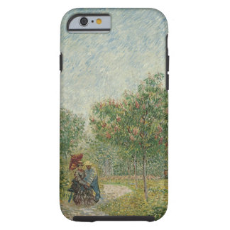 Garden in Montmartre with lovers Tough iPhone 6 Case