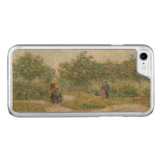 Garden in Montmartre with Lovers Van Gogh Carved iPhone 8/7 Case