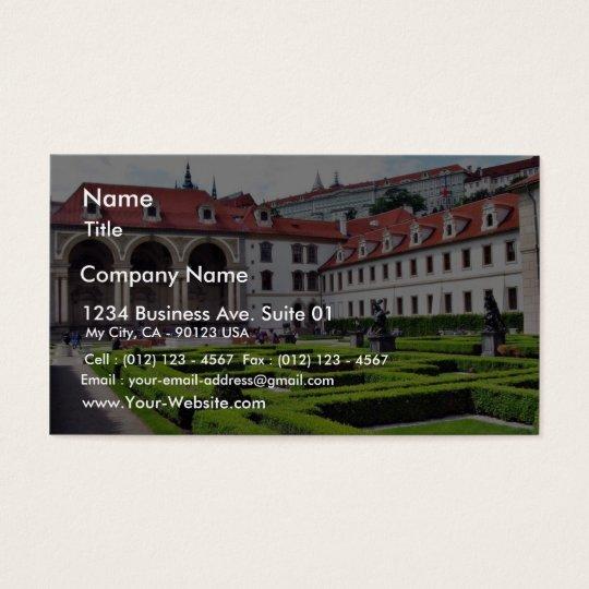 Garden In Prague Business Card