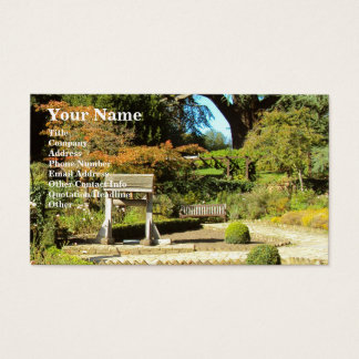 Garden In The Rookery, Streatham Common Business Card