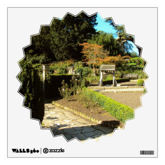 Garden in the Rookery, Streatham Common, London Wall Decal