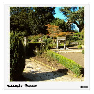 Garden in the Rookery, Streatham Common, London Wall Sticker