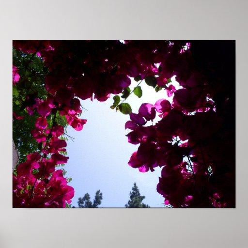 Garden in the Sky Poster