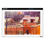 "Garden in the Snow by Alfred Sisley Skin For 17"" Laptop"