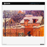Garden in the Snow by Alfred Sisley MacBook Air Skins