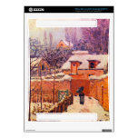 Garden in the Snow by Alfred Sisley Xbox 360 Console Decal