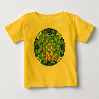 """""""Garden Inlay"""" Mandala & Logo Baby T-Shirt"""