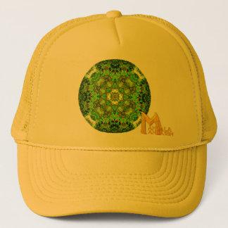 """Garden Inlay"" ""Mandala Mandarin"" logo Trucker Hat"