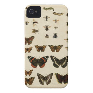Garden Insects by Vision Studio iPhone 4 Case-Mate Case