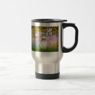 Garden - Japanese Chin (L2) Travel Mug