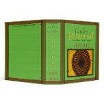 Garden Journal 3 Ring Binder by David M. Bandler