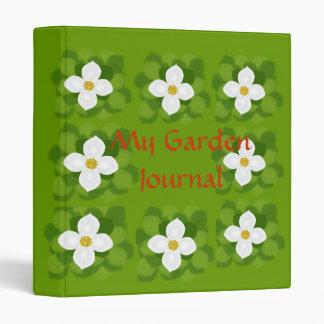 Garden Journal, binder