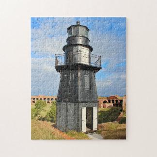 Garden Key Lighthouse, Dry Tortugas Florida Jigsaw Puzzle