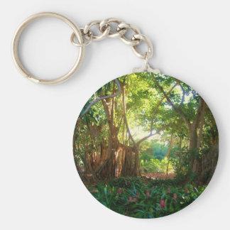 garden keychain