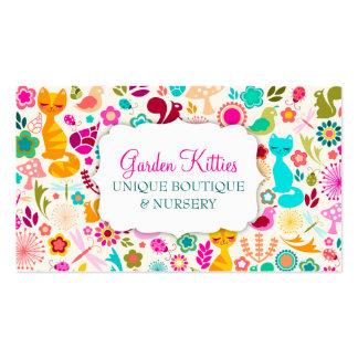 Garden Kitty Business Card Template