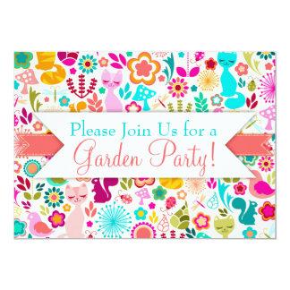 Garden Kitty Card