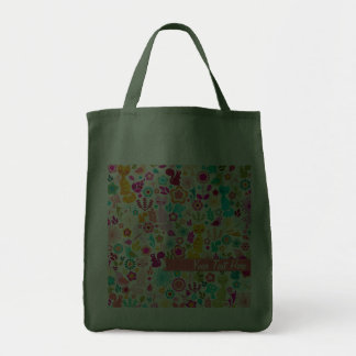 Garden Kitty Grocery Tote Bag