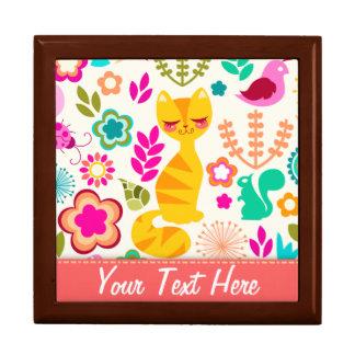 Garden Kitty Jewelry Box