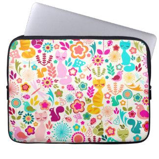 Garden Kitty Laptop Sleeve