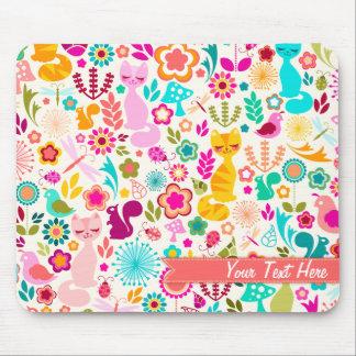 Garden Kitty Mouse Pad