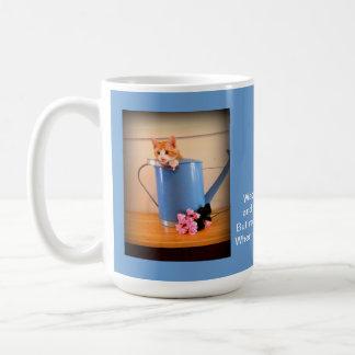 Garden Kitty Mug