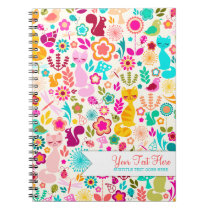 Garden Kitty Notebook