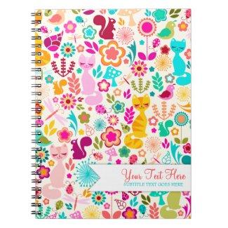 Garden Kitty Notebooks