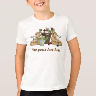 Garden Ladybugs and Bears T-Shirt