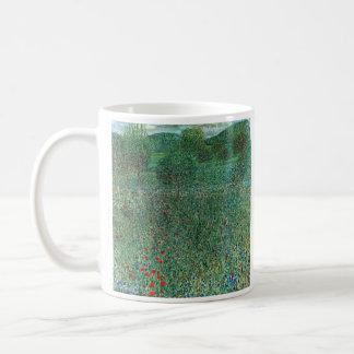 Garden landscape by Gustav Klimt Mugs
