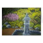 Garden Lantern Greeting Card