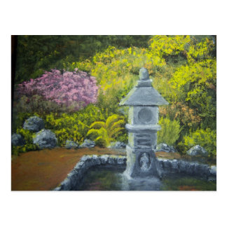 Garden Lantern Postcard
