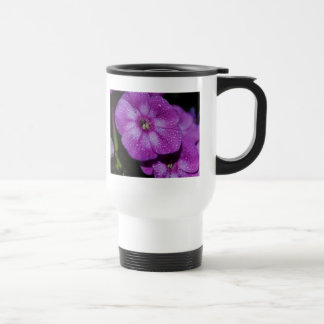 Garden Laura Phlox Flowers-007 15 Oz Stainless Steel Travel Mug